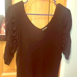 EXPRESS Black Blouse